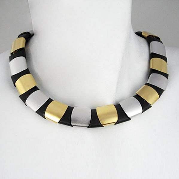 Tri-Color Reversible Necklace